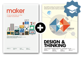 Maker + Design & Thinking DVD Bundle (Educational License)