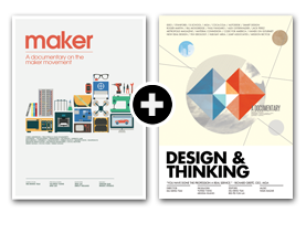 Maker + Design & Thinking DVD Bundle (Home Version)