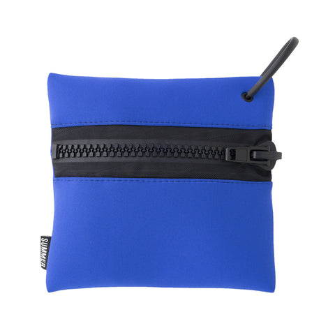 PROTECT YOURCELLF COBALT ZIP POUCH