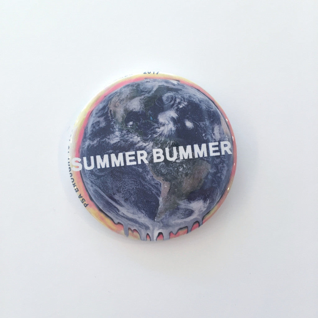 The World is Melting Pin