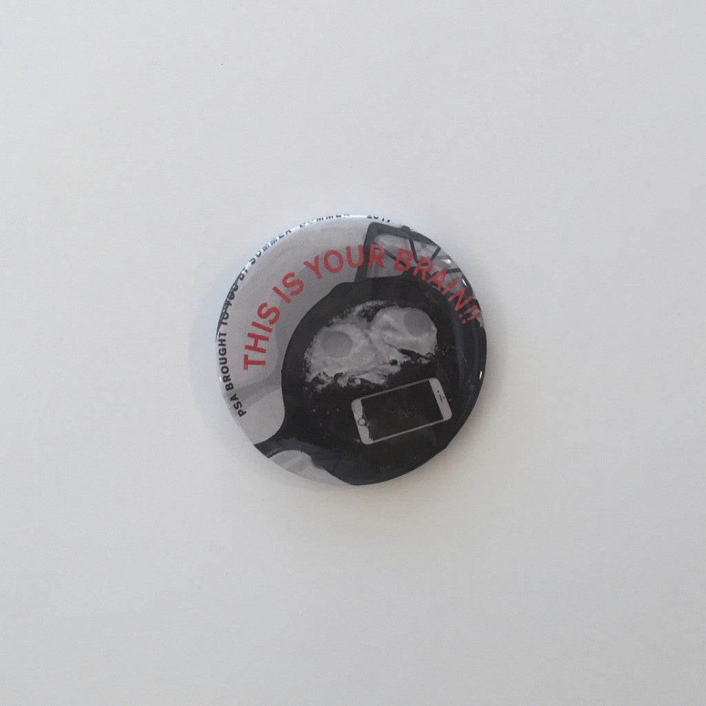 THIS IS YOUR BRAiN Pin