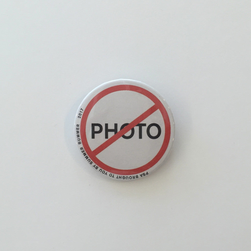 NO PHOTO Pin