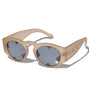 Summer Bummer Face It Sunglasses Sandblasted