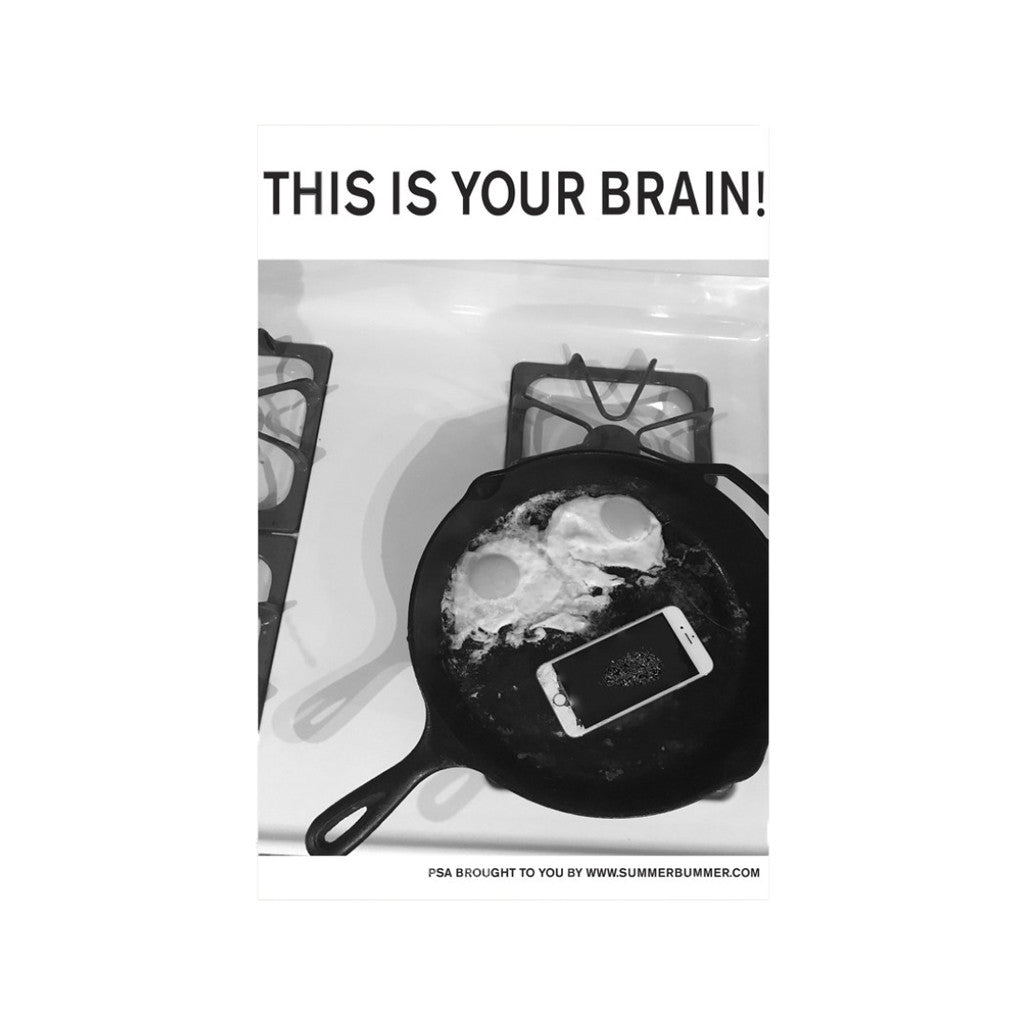 THIS IS YOUR BRAIN POSTER