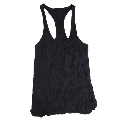 SUSTAINABLE TANK BLACK