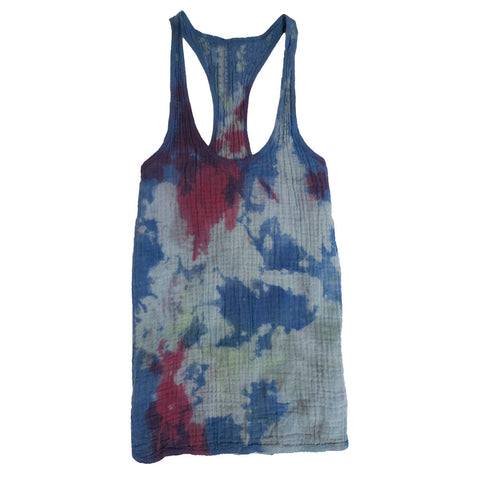 SUSTAINABLE TANK MULTI TIE DYE