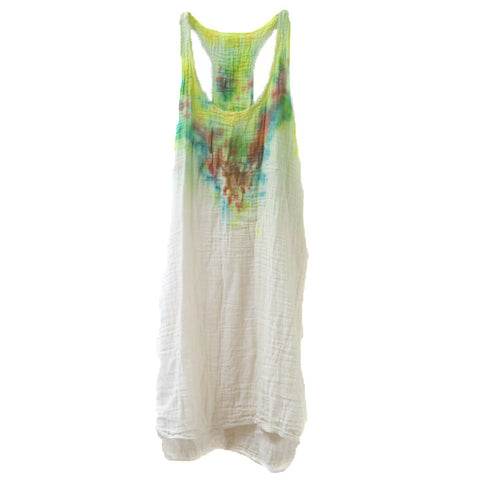 SUSTAINABLE TUNIC Rainbow Throw up