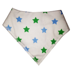 Green Star Dribble Bib