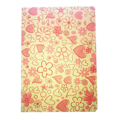 Picture of Notebook Hearts Pink