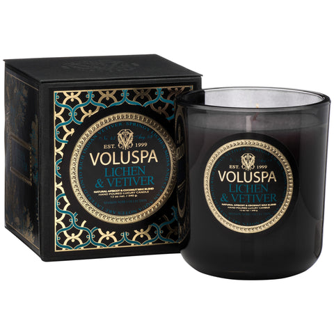 Lichen & Vetiver Classic Maison Boxed Candle