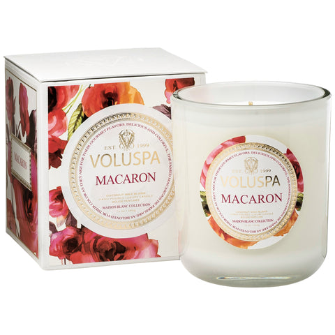 Macaron Classic Maison Boxed Candle