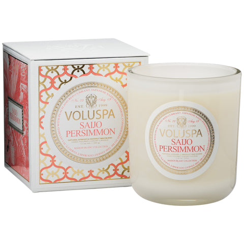 Saijo Persimmon Classic Maison Boxed Candle