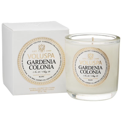 Gardenia Colonia 3 oz Classic Maison Boxed Votive