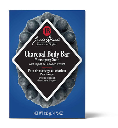 Charcoal Body Bar Massaging Soap