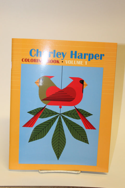 Charlie Harper Birds Coloring Book