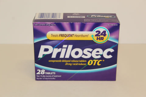Prilosec 20 mg x 28 tablets