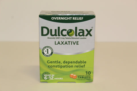 Dulcolax 10 tablets