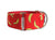 Your pup will go bananas for this cheerful red collar, great for any pooch with a playful side!