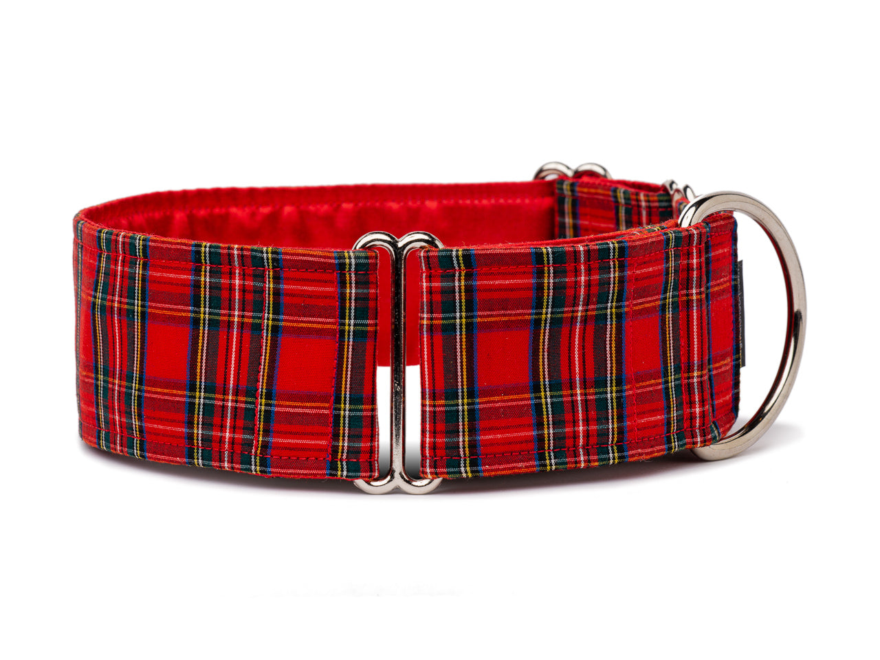 Classic red tartan is always in season for the stylish and sophisticated pooch!