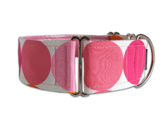 Giant pink dots make a big fashion statement for any pooch with a big personality!