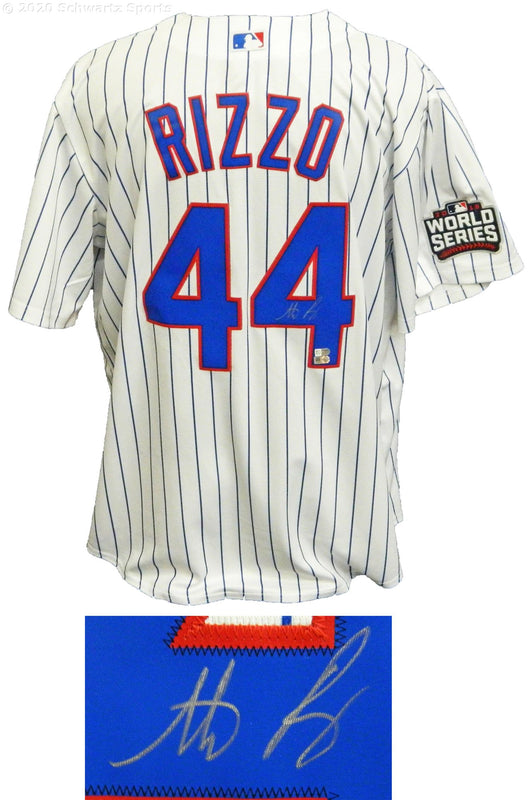 Anthony Rizzo autographed Chicago Cubs jersey