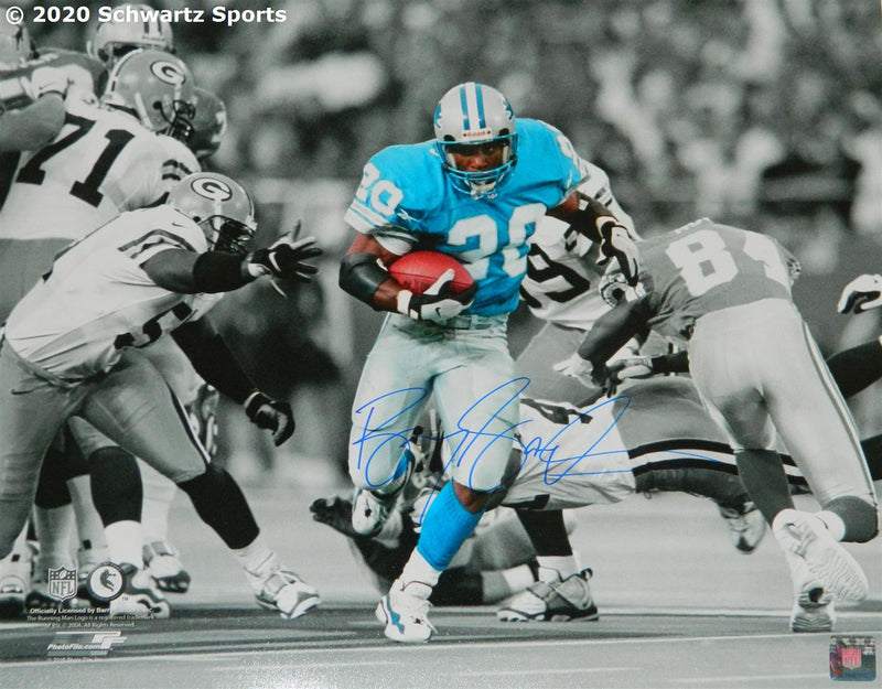 Barry Sanders autographed 16x20 photo