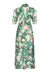 Sable dress in Celadon Rose print crepe - mannequin front