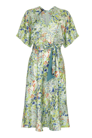 Sophia dress in Painter's Garden crepe