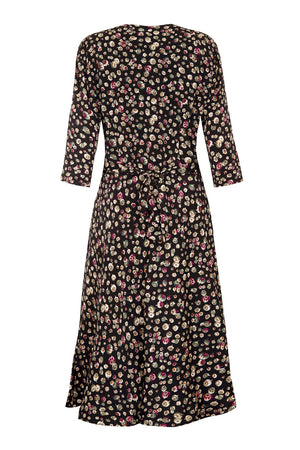 Trudi dress in Chinaberry print