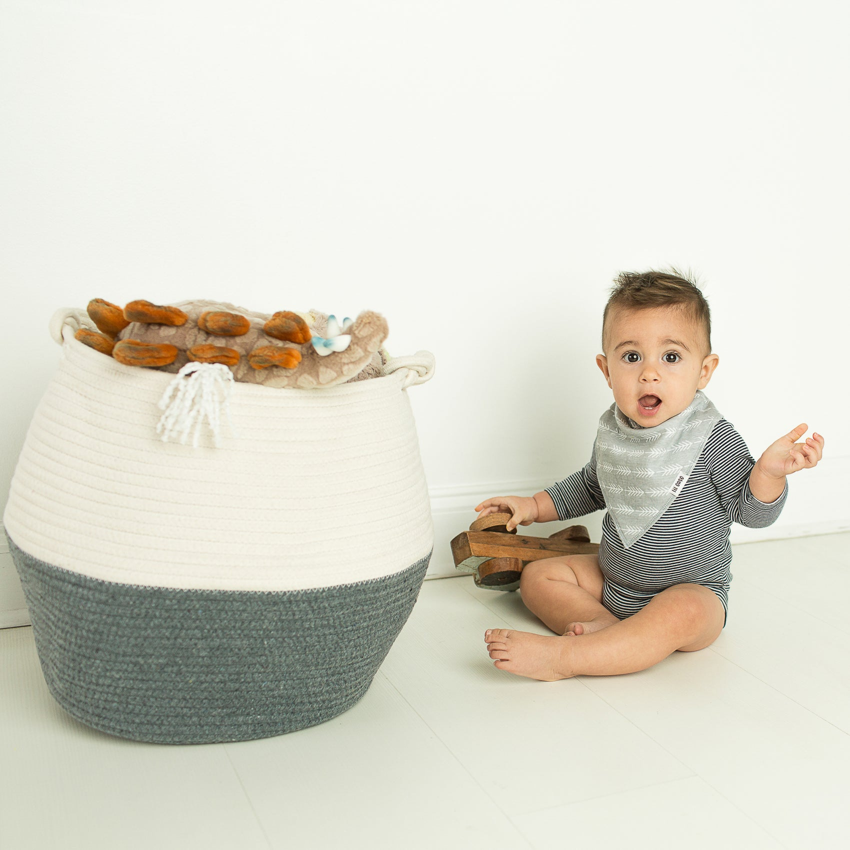 Cotton Storage Basket - Medium