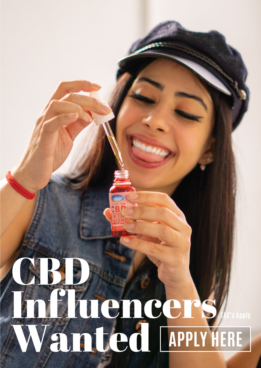 Experience CBD Influencers Wanted
