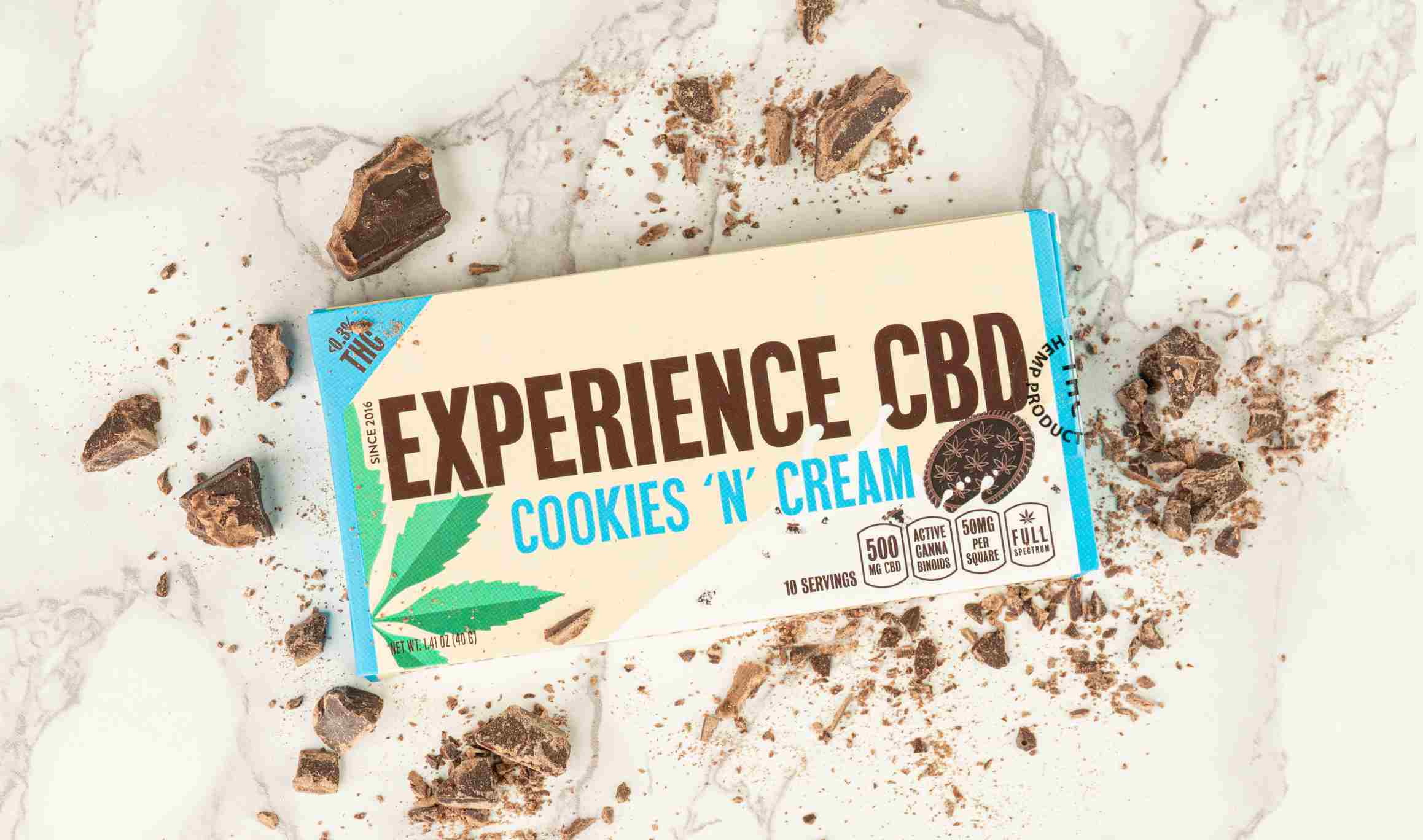 Full Spectrum CBD Chocolate Bar (500mg)