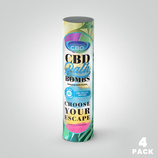 Experience CBD - CBD Bath Bombs 120mg