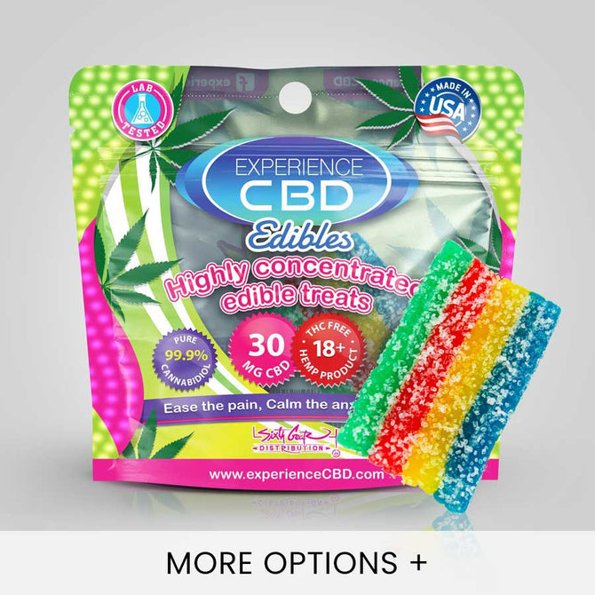 CBD Gummies - Rainbow Belts