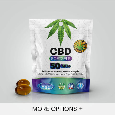 CBD Softgels (50mg-750mg)