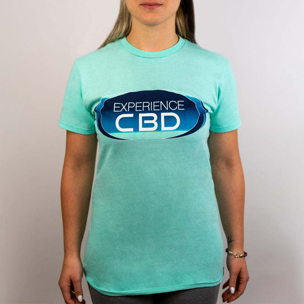 Experience CBD | CBD Merch | Experience CBD Basic Shirt - Teal