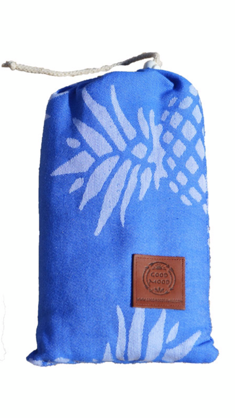 Blue Pineapple Beach Towel