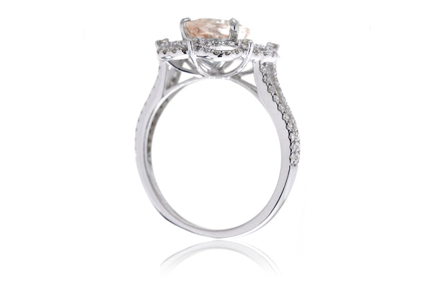 The Anastasia Pear Morganite