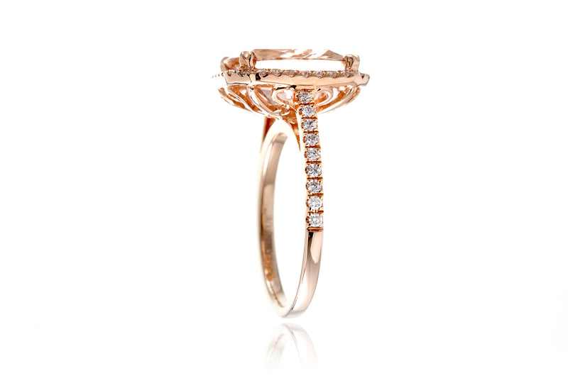 The Signature Cushion Morganite