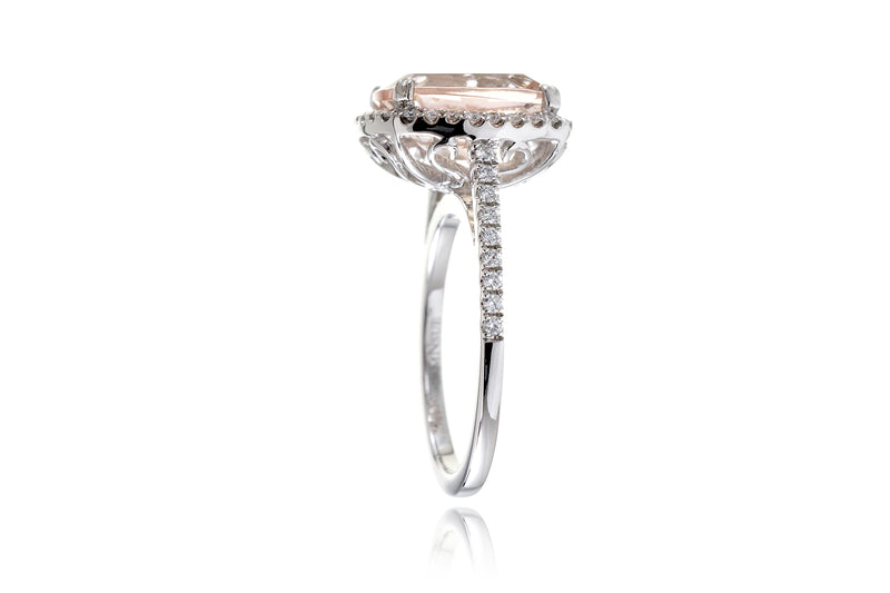 0e1928d780e03 The Signature Curved Cushion Morganite Engagement Ring – samNsue