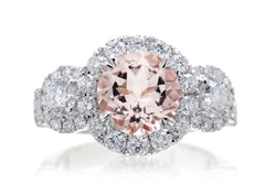 The Margaret Round Morganite