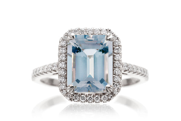 The Signature Emerald Cut Aquamarine