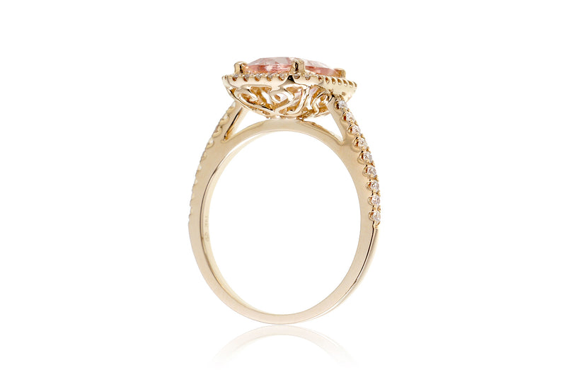 The Signature Emerald Cut Morganite