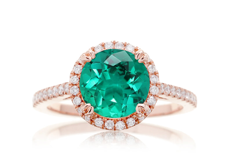 The Signature Round Chatham Green Emerald