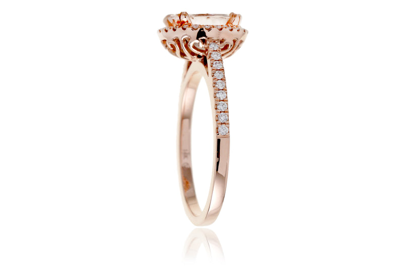 The Signature Round Morganite