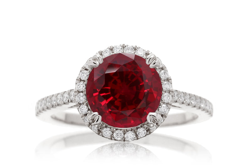 The Signature Round Chatham Ruby