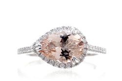 The Signature Pear Morganite (10x7)
