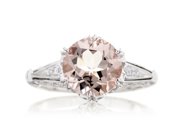 The Crown Round Morganite