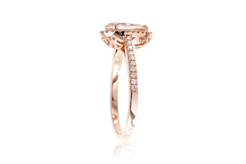 The Signature Pear Morganite