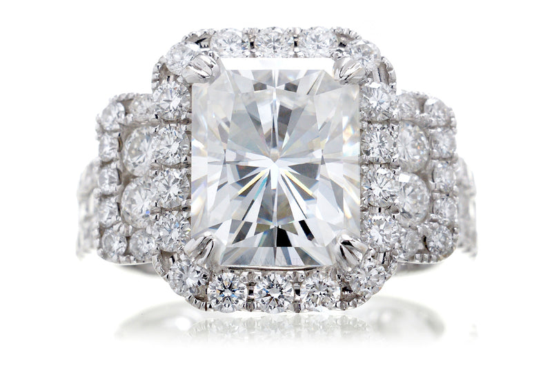 The Sydney Radiant Moissanite